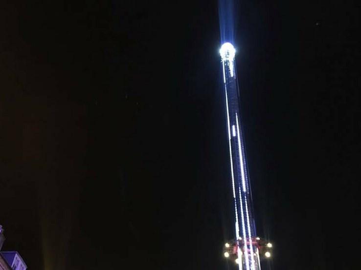 Tower Drop Ride, Edinburgh Christmas Markets
