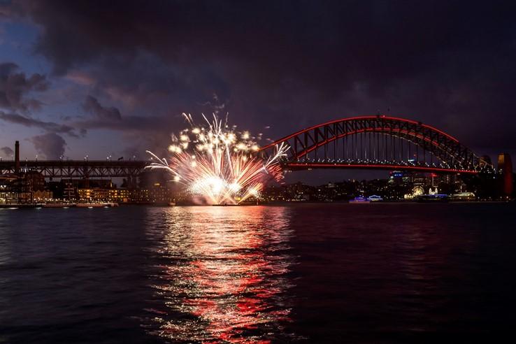 Chinese New Year Fireworks, Sydney
