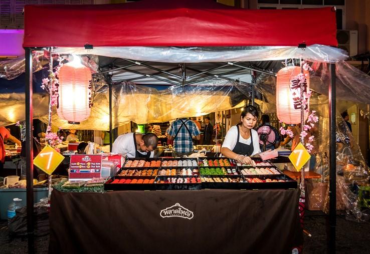 Street Food Venor, Thailand
