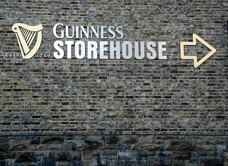 Guinness Storehouse Sign | Dublin