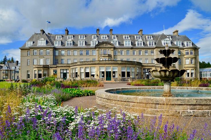 Gleneagles Hotel   Auchterarder   Scotland