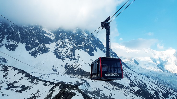 Chamonix Cable Car