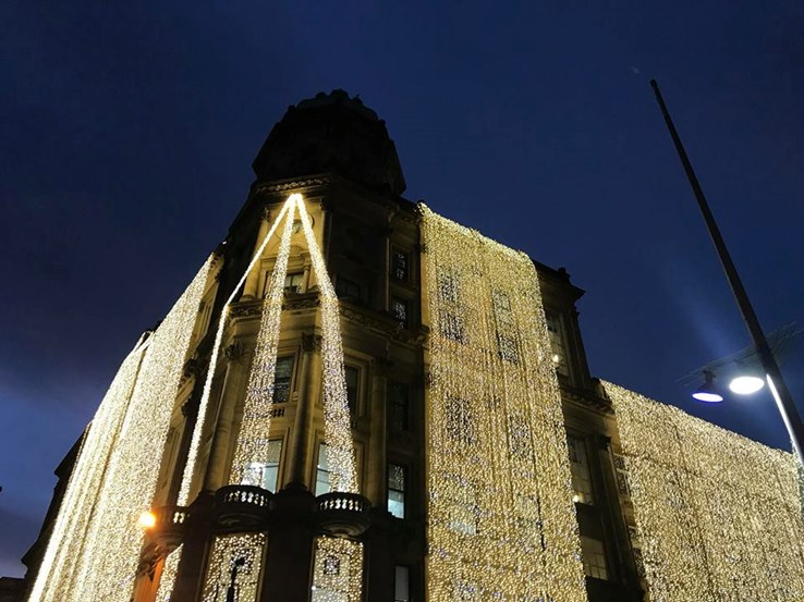 Frasers Glasgow Christmas Lights