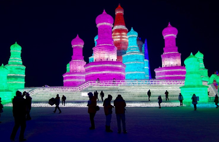 Ice & Snow Land, Harbin