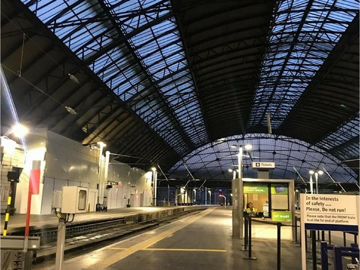 On Our Way: Queen Street Station, Glasgow