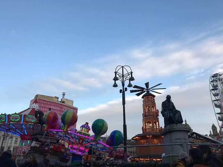 George Square Christmas Markets