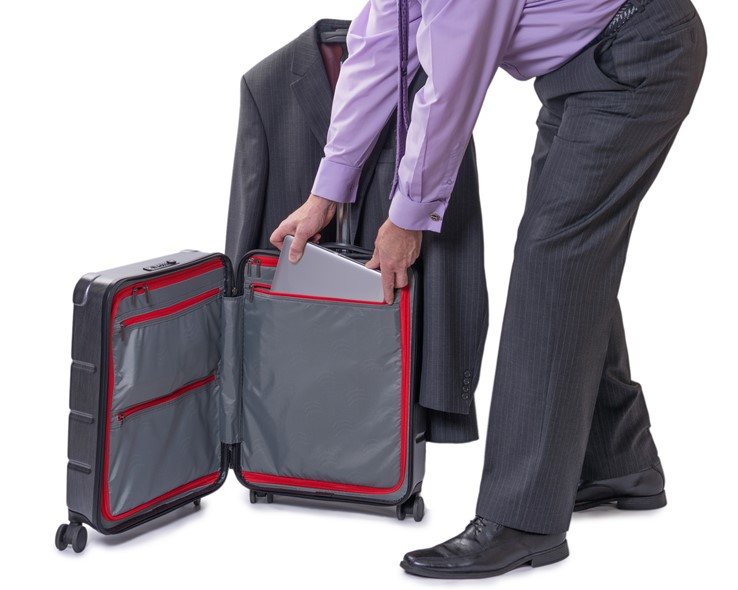 Bizhop Carry-On Case Compartments