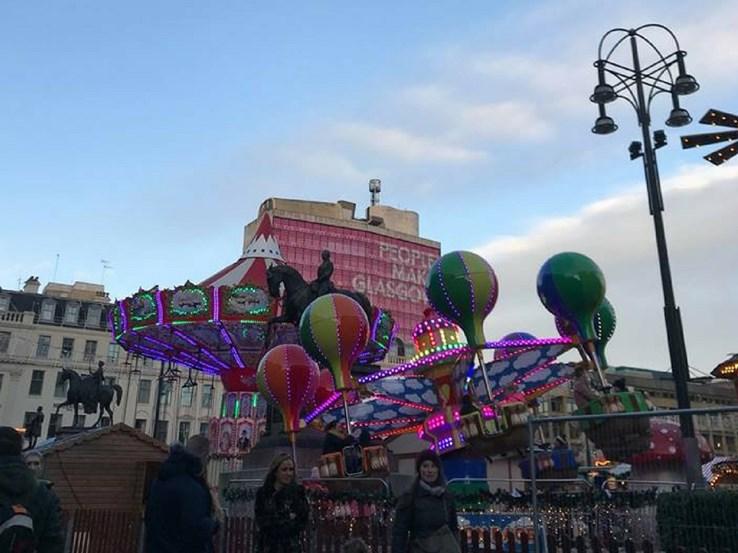 George Square Christmas Market Rides