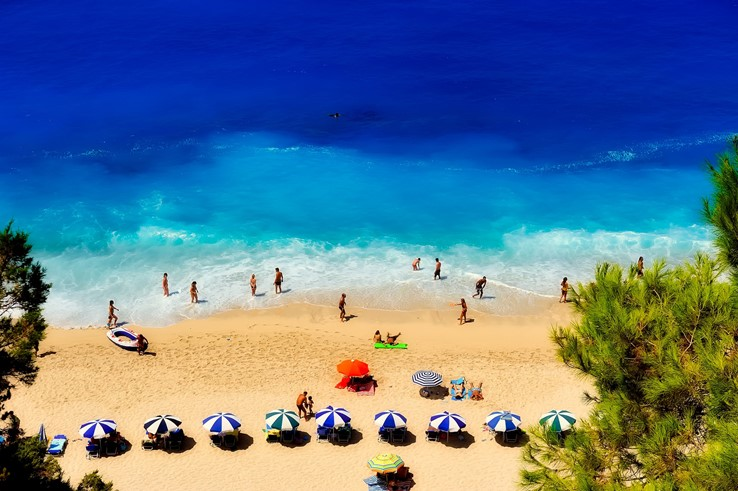 Elounda Beach, Greece