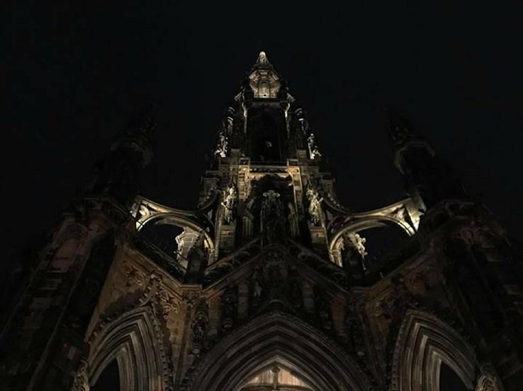 The Perfect View for Dinner: Scott Monument, Edinburgh
