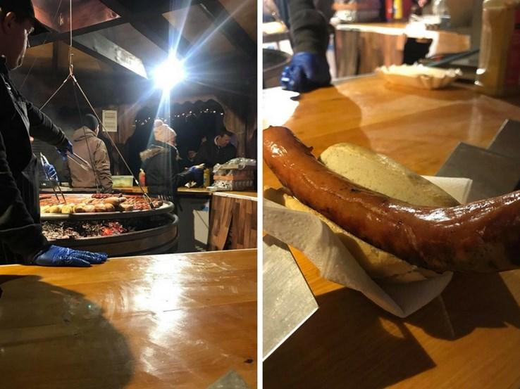 Traditional German Sausage