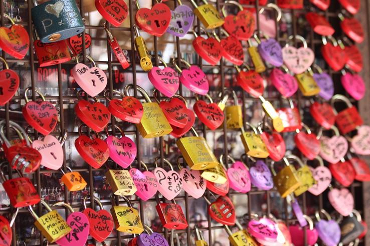 Heart Locks | Juliet's House | Verona